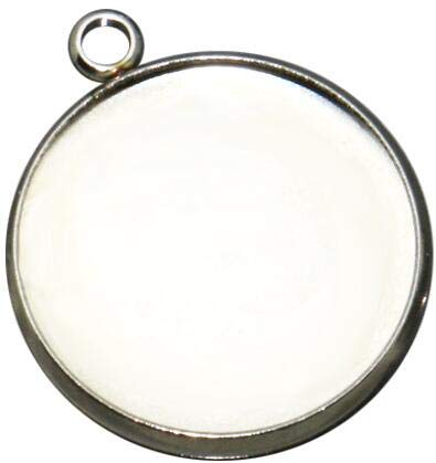 - Pendant Trays - 20pcs 8 10 12 14 16 25mm Stainless Steel Single Circle Round Pendant Charm Blank Jewelry with Bezel Setting Tray Cameo Cabochons