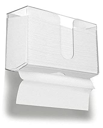 Wall Mount Paper Towel Dispenser Acrylic Paper Towel Holder For