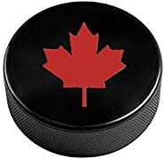 Ice Hockey Pucks, Perfect for Match&Practice Use, Official Size,Black,Si