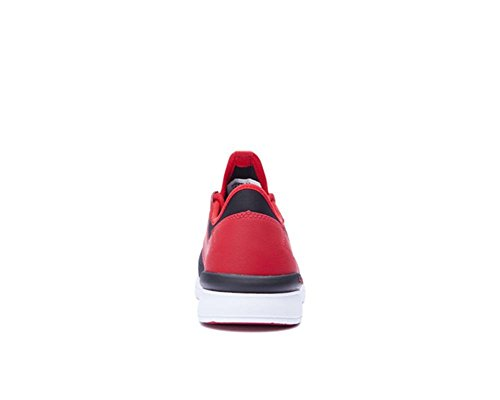 Low Run Herren White Red Supra Top Flow Black 4qtx7ngw