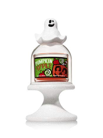Bath and Body Works Halloween-Ghost Cloche Pedestal Mini Candle Holder. ()