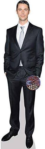 mini size Matthew Goode Suit Standee. Cardboard Cutout