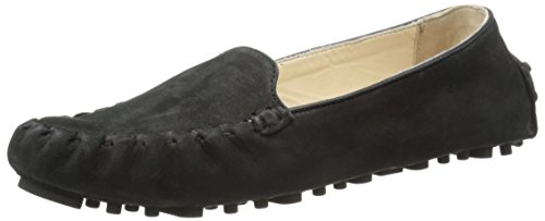 Cole Haan Women's Cary Venetian Moccasin Black Nubuck NnHMS8A