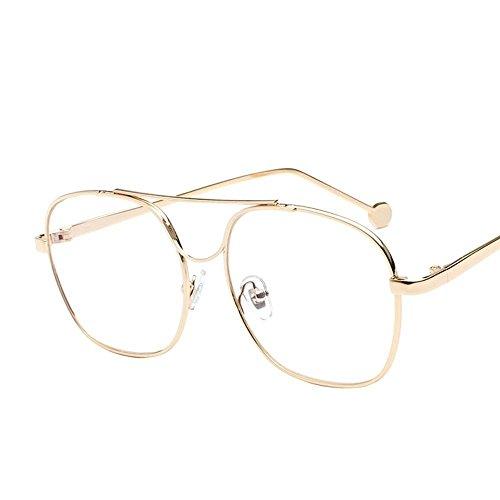 creativos Hombre de Espejo Océano Marco de H Regalos Metal Vidrios Piezas Plano de Marea Gafas de Axiba Controlador Color Sol Gafas Sol qTR7FP
