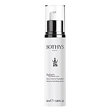Sothys Hydra3Ha Intensive Hydrating Serum - 1.69 oz Age-Defying Therapy Toner Spray with Sea Buckthorn - 3.4 oz. (Formerly Green Tea & Ginkgo Facial Toner) by Aubrey Organics (pack of 3)