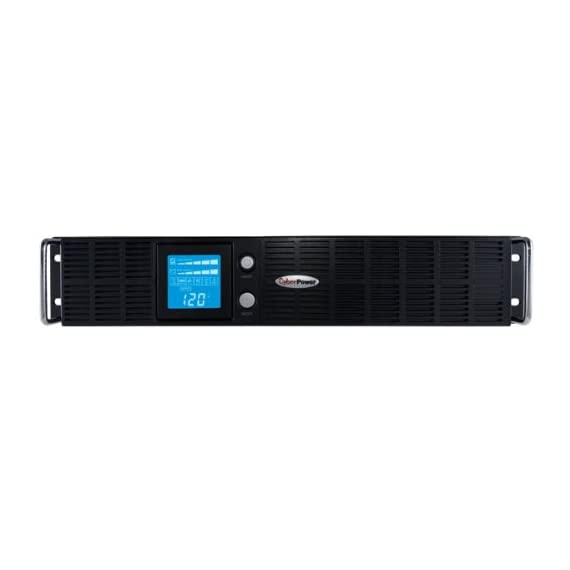 CyberPower Rack Tower 3 1500VA/1125W Smart App LCD Battery Backup Uninterruptible Power Supply (UPS) System - offers guaranteed power protection for departmental servers, networking hardware, and other equipment capable of using simulated sine wave output NEMA 5-15P INPUT PLUG & 8 BATTERY BACKUP AND SURGE PROTECTED NEMA 5-15R OUTLETS: Safeguard department and workgroup servers, workstations, network devices, and telecom equipment INCREASED RUNTIME OPTION: Add up to ten (10) BP48V75ART2U External Battery Packs to increase total runtime.Operating Temperature 	32 - 104 °F (0 - 40 °C).