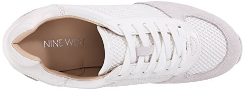 Nine West Telly ante de la zapatilla de deporte de la manera White/Multi