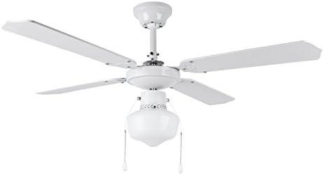 Orbegozo CL 04105 B Ventilador de techo con luz, 50 W de potencia ...