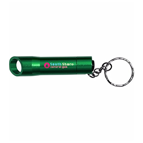 LED Light/Bottle Opener/Key Chain - 100 Quantity - $2.15 Each - PROMOTIONAL PRODUCT / BULK / BRANDED with YOUR LOGO / CUSTOMIZED by Sunrise Identity (Image #1)