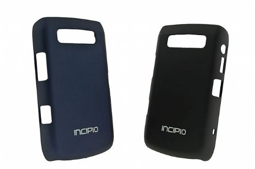 Incipio Feather Shell for Blackberry Bold 9ck (Black/Navy)700 2-Pa