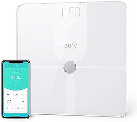 Amazon.com: Eufy Báscula inteligente P1 con Bluetooth ...