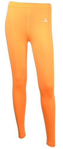 XPRIN A500 Series Women's Long bottom Pants Base Layer Compression Sports Wear Rash Guard uv 97.5%