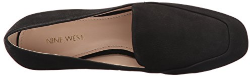 Women's Black Nubuck Flat West Xalan Nine Ballet Sw545q