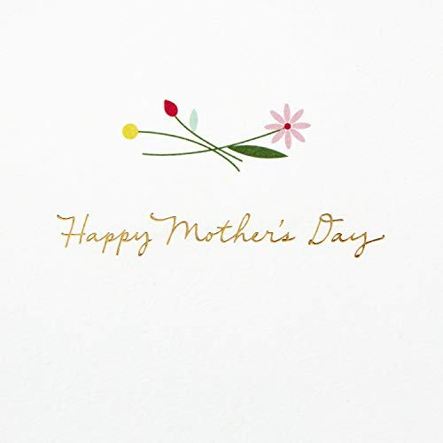 Hallmark Signature Mothers Day Card (Quilled Flowers, Couldn't Have Picked a Better Mom) by Hallmark (Image #2)