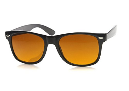 Sunglasses Classic 80's Vintage Style Design (Blue Block) - Blocker Blu Sunglasses