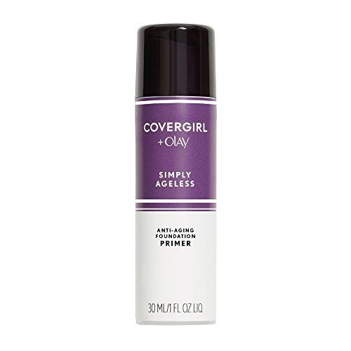Price comparison product image COVERGIRL + Olay Simply Ageless Makeup Oil Free Serum Primer for an Age-Defying, Never Pore Clogging Start to Your Makeup Routine, 1 ounce. (packaging may vary)