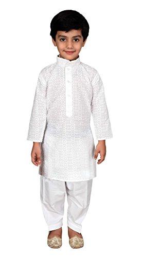 Boys Indian Cotton Sherwani Kurta Churidar Salwar Kameez for Bollywood party 845 (11 ( 11 yrs ), - Picture Pakistani Boys
