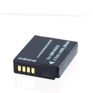 Batería para Panasonic Lumix DMC-TZ10Ion de litio 3,7V 800mAh