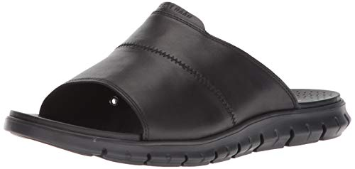 Cole Haan Men's Zerogrand Slide Sandal LTHR/Black