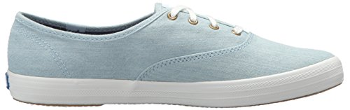 Keds Womens Champion Primavera-estate 2015 Sneaker Azzurro