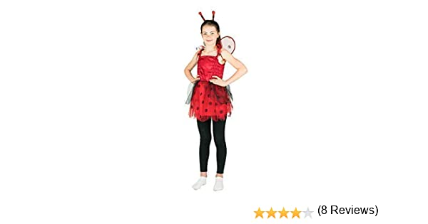 Bodysocks® Disfraz de Mariquita Niña (5-7 años): Amazon.es ...