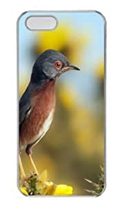 Apple iPhone 5S Case,iPhone 5S Cases - Bird 19 PC Custom iPhone 5S Case Cover for iPhone 5S - Transparent