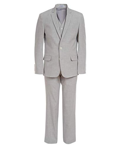 Calvin Klein Boys' 3-Piece Formal Suit Set