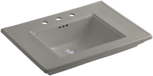 8 K4 Cashmere Memoirs Pedestal - KOHLER K-2269-8-K4 Memoirs Bathroom Sink with Stately Design and 8