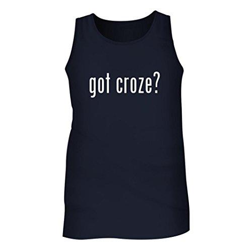 Croze Hermitage (Tracy Gifts Got croze? - Men's Adult Tank Top, Navy, Large)