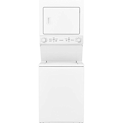 (Frigidaire FFLE3900UW 27 Inch Electric Laundry Center with 3.9 cu. ft. Washer Capacity in White)