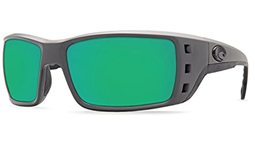 Green Kit Permit Gray Matte amp; Costa Mirror Sunglasses Cleaning 580p Bundle 874qa