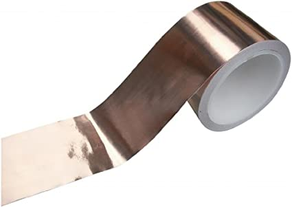 Direct Products – Pastilla para guitarra de cobre cinta 100 mm x 4 ...