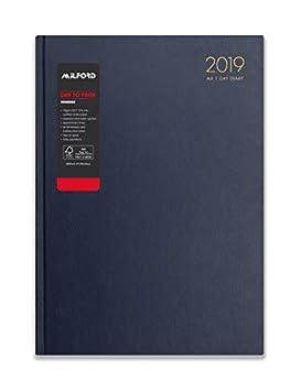 Milford 2019 - Agenda de escritorio con citas, tamaño A4 ...