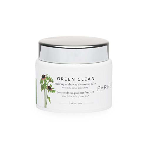 Farmacy Natural Makeup Remover - Green Clean Makeup Meltaway Cleansing Balm Cosmetic (Green Makeup Remover)