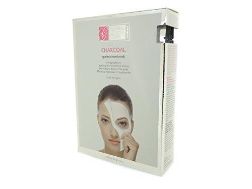 Beauté globale soins Premium Spa à charbon traitement masque - 5 soins du visage