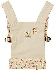 Ergobaby Poppendrager kinderspeelgoed, draagtas voor babypop, poppendraagtas van 100% katoen, Doll Carrier Clementine