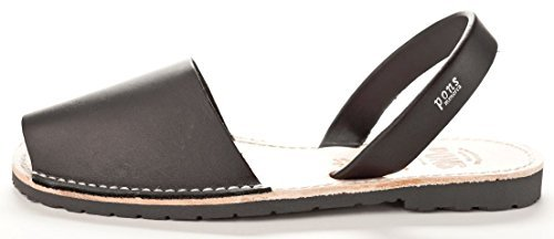 510 - Avarca Pons Classic Style Women - Black - 37 ( US 7 )
