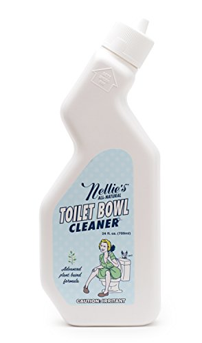 Nellie's All-Natural Toilet Bowl Cleaner - Lemongrass Scent, Natural Cleaning Power, Plant Based Formula + No Harsh Chemicals!