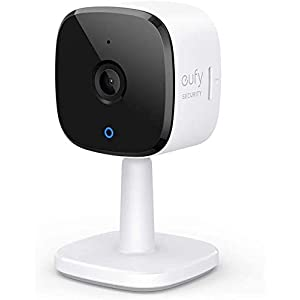 eufy Security 2K Indoor Cam, Plug-In Security Indoor Camera with Wi-Fi, IP Camera,Human and Pet AI, Works with Voice…