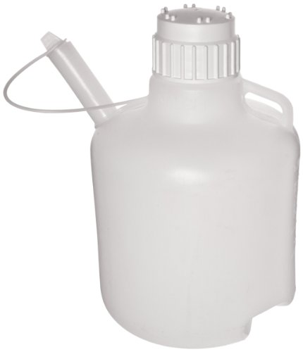 Safety Dispensing Jugs - Nalgene 2340-0020 LDPE 10L Safety Dispensing Jug