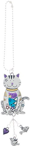 Ganz Color Car Charm, Cat with Dangles, Multi, ()