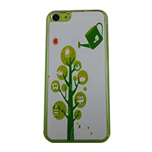 JOE Beautiful Tree Pattern PC Back Case for iPhone 5C