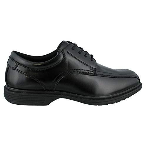 Nunn Bush Mens Bartole Street Bicycle Toe Oxford Lace Up with Kore Slip Resistant Comfort Technology