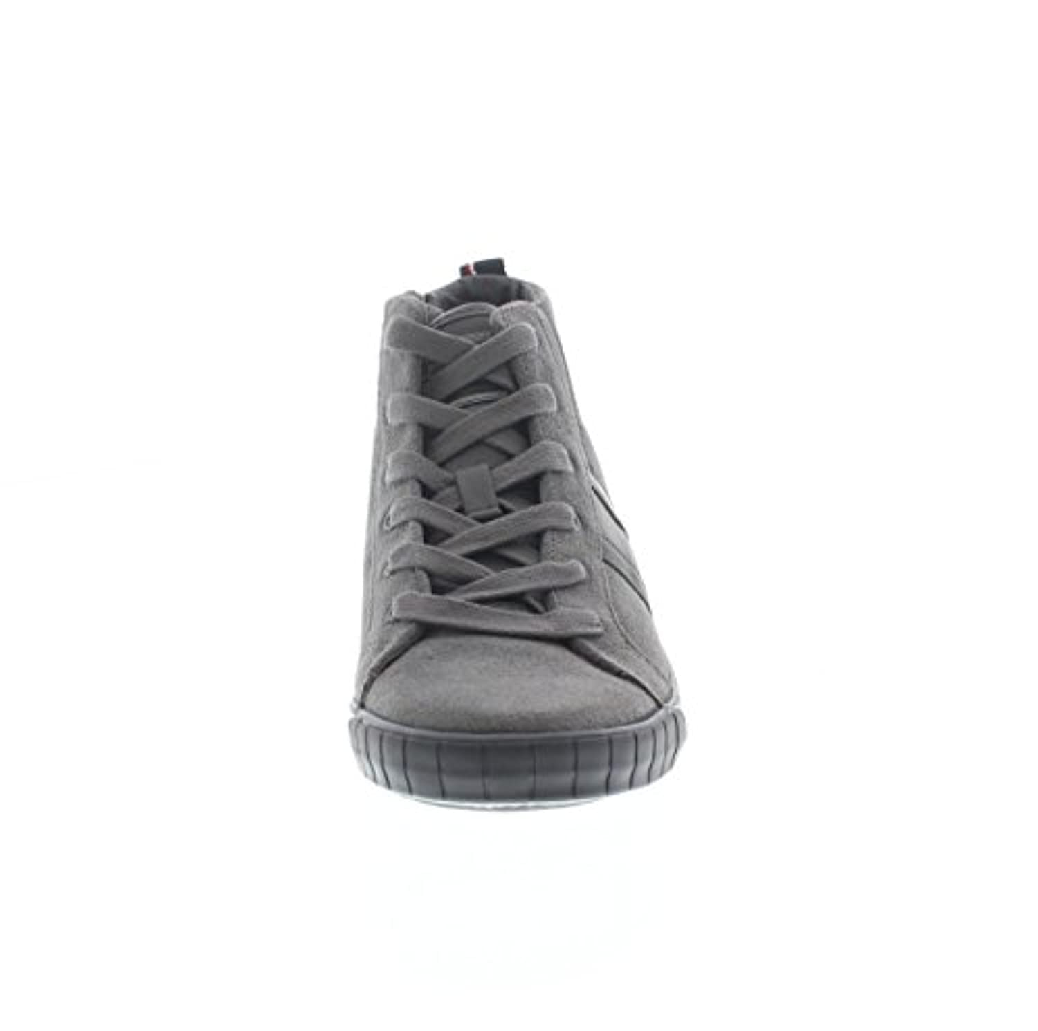 Tommy Hilfiger Boys' S3285ammie 4c Trainers grey Size: 1/1.5