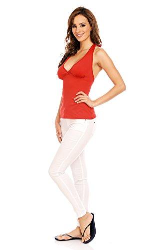 Mia Suri - Vestido - para mujer Red - Plain 2