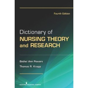 Download DictionaryofNursing Theory and Research4th (Fourth) Edition byPhD ebook