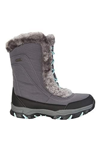 Neve Stivali Impermeabili e Doposci Caldi Ideali Warehouse Invernali e Mountain Ohio Grigio per da Donna fxPaY5wq