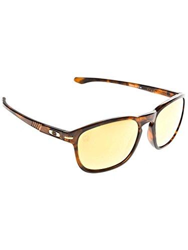 Oakley Men's Enduro Round Eyeglasses,Brown Tortoise,55 mm