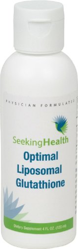 Optimal Liposomal Glutathione | Non-Soy and Non-GMO | Provides 500 mg of Liposomal Glutathione per Teaspoon | 4 oz | 30 Servings