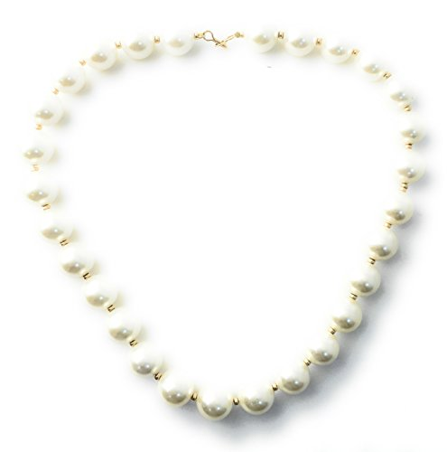 Masha Storewide Sale ! Sterling Silver Necklace By Beautiful Classic, Cultured Pearls, Gold Filled Beads, Made in USA - Exclusive Southwestern Handmade Jewelry, Gift by Masha